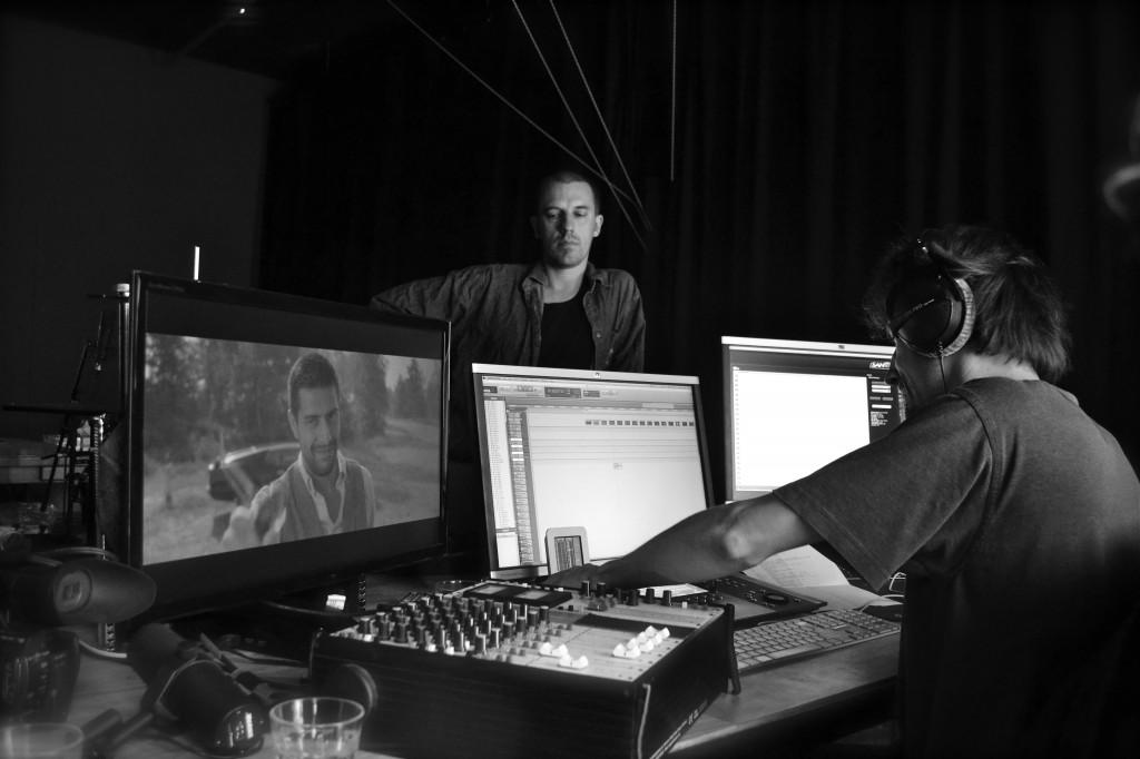 opnames foley met Elias & Yoerik @ studio Gonzo