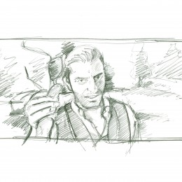 Storyboard Art Work for Motel Motel