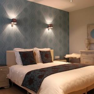 luxe kamer met ontbijt en bubbels